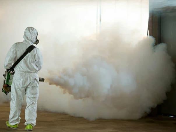 Обработка холодным туманом при дезинсекции